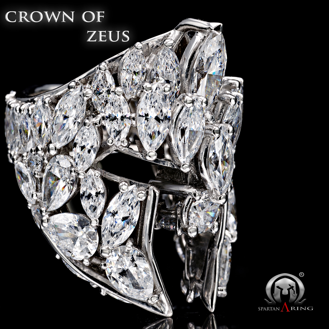 Crown of Zeus - Spartan Ring